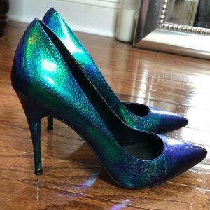 Iridescent Heels